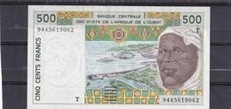 AOF  Togo 500fr 1994 Rare - West-Afrikaanse Staten