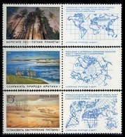 1989Russia (USSR)5921-23TabPreserve The Nature Of The Arctic - Neufs