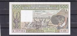 AOF Benin 500 Fr 1990   UNC - États D'Afrique De L'Ouest