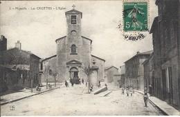 CPA-MARSEILLE- LES CROTTES- L'Eglise - Joliette, Zone Portuaire