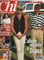 """REVUE """" CHI"""" L'album Segreto Di DIANA- Esclusiva Mondiale-il Segreto Dell'ultima Vacanza A Barbuda - Livres, BD, Revues"""
