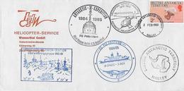 HELICOPTERE  SERVICE - Territoire Antarctique Britannique  (BAT)