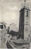 CPA-MARSEILLE- SAINT JULIEN- La Montée De L'Eglise - Saint Barnabé, Saint Julien, Montolivet