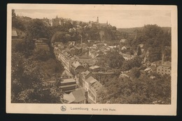 LUXEMBOURG  GRUND ET VILLE HAUTE - Luxembourg - Ville