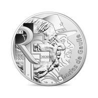 FRANCE 10 Euros Argent Général De Gaulle 2020 UNC - France