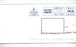 Lettre Flamme Ema La Rochelle Ordre Medecin Charente - Storia Postale