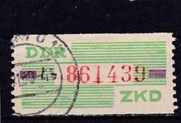 DDR, Dienst: ZKD Nr. 24 L, Gest. (T 14287) - [6] Repubblica Democratica