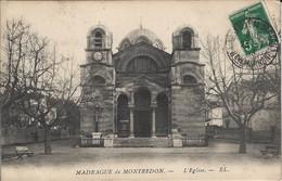 CPA-MARSEILLE- MADRAGUE DE MONTREDON- L'Eglise - Quartiers Sud, Mazargues, Bonneveine, Pointe Rouge, Calanques