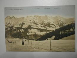 Suisse. La Gruyère En Hiver, Lot De 2 Cartes (8403) - FR Fribourg