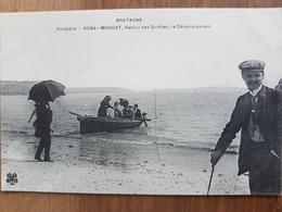 Morgat.retour Des Grottes,le Débarquement.édition MTIL 6094 - Morgat