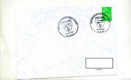 Lettre Cachet Orange Sissolution Escadron Chasse - Storia Postale