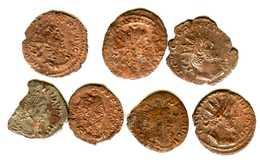 Monnaie Romaine Lot De 7 Pièces - 5. L'Anarchie Militaire (235 à 284)