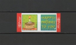 België Nrs 3587a/88 Xx - Happy Birthday (uit Boekje B69) Samenhangend - Postfris - Ungebraucht