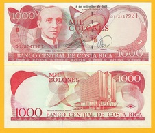 Costa Rica 1000 Colones P-264f 2005 (Series D) UNC Banknote - Costa Rica