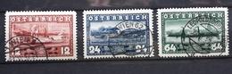 Österreich 1937, Mi 639-641 Gestempelt - 1918-1945 1st Republic