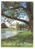 Saint Fargeau (89170) Le Chateau De Saint Fargeau - Le Chateau Vu Depuis L'etang - Saint Fargeau