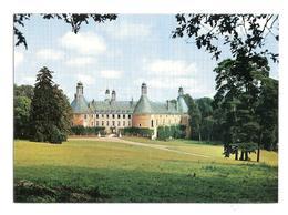 Saint Fargeau (89170) Le Chateau De Saint Fargeau - L'egende Au Dos - Saint Fargeau