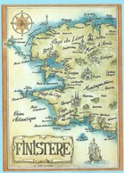 0517 - FINISTERE - MAP - Cartes Géographiques