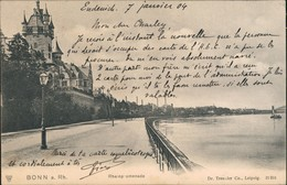 Ansichtskarte Bonn Rheinpromenade 1904 - Bonn
