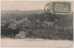 MADAGASCAR 5c Filanzane Oblitération Rare Cachet à Numéro 74 = MANTASOA Bureau Auxiliaire 3ème Catégorie 1911 / CPA - Madagascar (1889-1960)