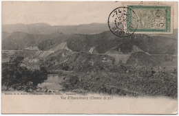 MADAGASCAR 5c Filanzane Oblitération Rare Cachet à Numéro 74 = MANTASOA Bureau Auxiliaire 3ème Catégorie 1911 / CPA - Madagaskar (1889-1960)