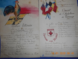 PAPIERS REVUES ET AUTRES SUR LE SANITAIRE WW1 - Documents