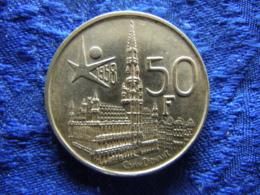 BELGIUM 50 FRANCS 1958, KM150.1 FRENCH Scratch - 08. 50 Francs
