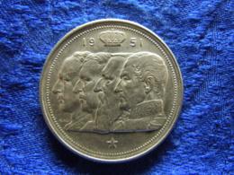 BELGIUM 100 FRANCS 1951, KM139.1 FLEMISH - 06. 100 Francs