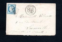 Nord Catillon Enveloppe Ancienne Avec Cachets G.C 4596  (ind 9) - Storia Postale