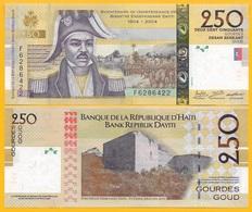 Haiti 250 Gourdes P-276g 2016 UNC Banknote - Haiti