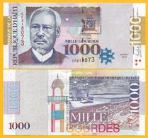 Haiti 1000 Gourdes P-278 2015 UNC Banknote - Haiti
