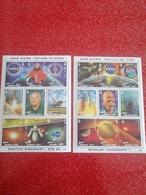 Blocs Feuillets Espace Avec John Glenn. Mongolie. NASA. Guiné Bissau. - Space