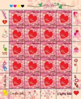 Vietnam Viet Nam MNH Perf Sheet Issued On 14th Of Feb 2020 : LOVE / VALENTINE / HEART (Ms1120) - Vietnam