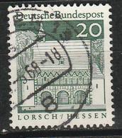 PIA - GERMANIA - 1967-69 : Edifici Storici - Portico Del Monastero Di Lorsch - (Yv 392) - Cristianesimo