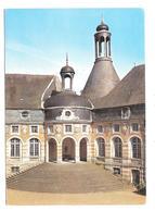 Saint Fargeau (89170) Le Chateau De Saint Fargeau - L'escalier D'honneur  ( Legende Au Dos ) - Saint Fargeau
