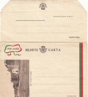 AERGRAMME  Bilhete Carta - Portuguese India
