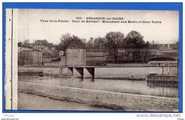 C038 Doubs 163 Besançon Les Bains - Tour De La Pelote Tour Battant Gare Viotte (non écrite) - Besancon