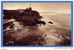C106 Pyrénées Atlantiques 250 StJean De Luz Le Sémaphore De Socoa Et  La Pointe De Fontarabie (voyagé 1922) - Saint Jean De Luz