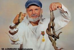 Le PEAGE-de-ROUSSILLON - Maurice Lombard Erpétologiste, 4 Allée Georges Buffon - Photo Seiller, Roussillon - Serpents - Autres Communes