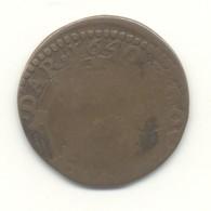 ARDENNES  Double-Tournois Charles II De Gonzague 1640 - 476-1789 Lehnsperiode