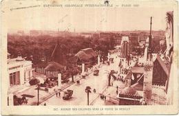 75  Paris - Exposition Coloniale 1931 - Avenue Des Colonies, La Porte De Neuilly Daguin Sens Ses Monuments Ses Musées - Exhibitions