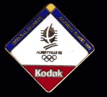 61879- Pin's -Jeux Olympiques Albertville..kodak.Photo. - Olympic Games