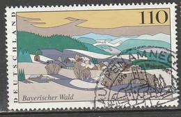PIA - GERMANIA - 1997 : Paesaggi Caratteristici Della Germania - La Foresta Bavarese - (Yv 1775) - Usati