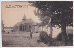 62 WISSANT L'église , Garde Champetre Sur Le Devant - Wissant