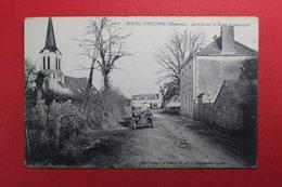 24560  CPA BOURG PHILIPPE  : Arrivée Par La Route De D' Ampoigné  !! ACHAT DIRECT !! - Autres Communes