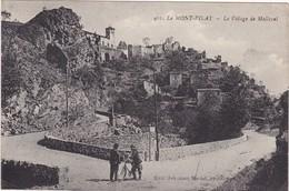 Loire : MONT-PILAT : Le Village De Malleval ( Animation - Cycliste ) - Mont Pilat