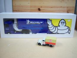 Camion Renault Magnum Michelin 2001 METAL Eligor Neuf !!!! Tres Rare - Camions, Bus Et Construction