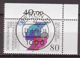 BRD , 1990 , Mi.Nr. 1471 O Eckrand Ersttagsstempel - Gebraucht