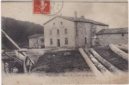 Loire : MONT-PILAT : Hotel Du Collet De Doizieu ( Au Dos Tampon Perlé - Le Bessat - Loire - 1914 ) - Mont Pilat