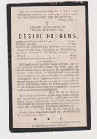 Priester Haegens Gavere Lierde Oosterzele Petegem Leerne - Images Religieuses